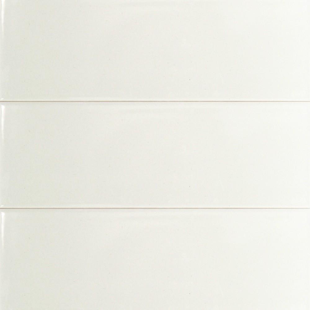 Basic 4x12 White Ceramic Tile