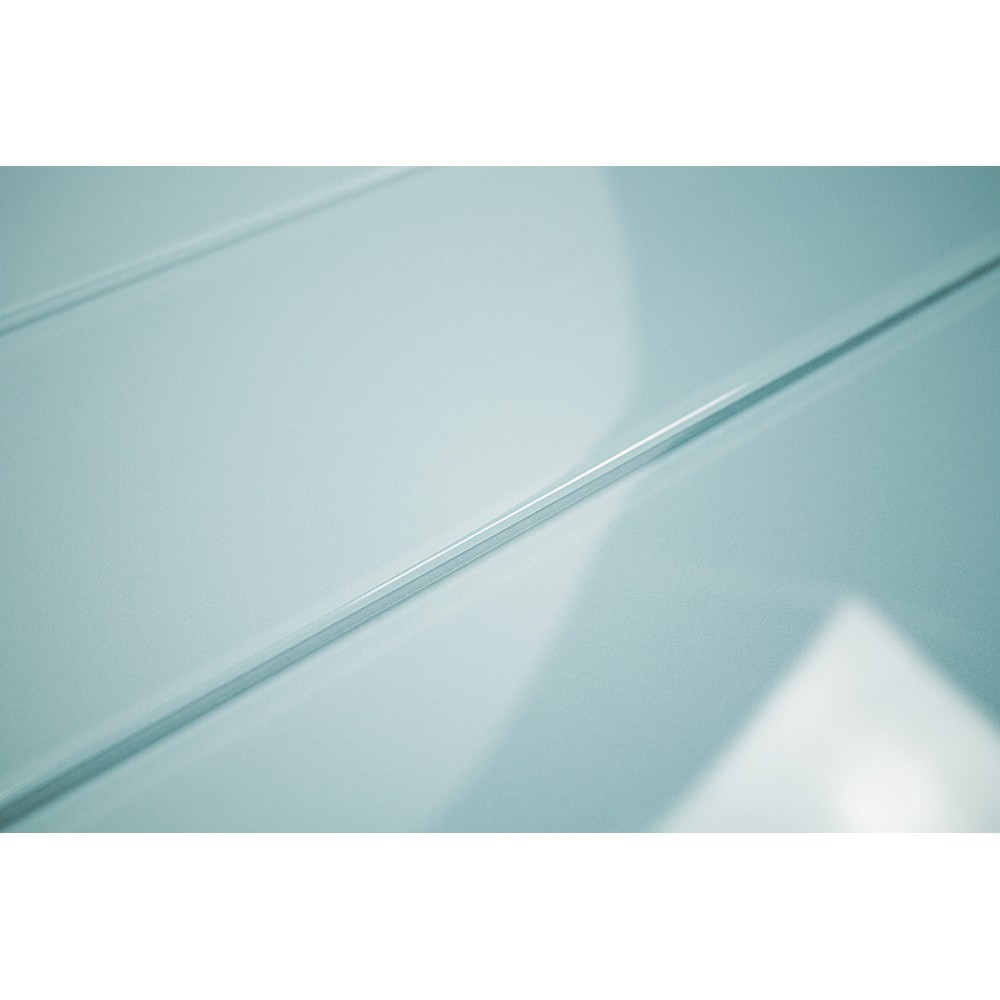 Shop For Loft Turquoise Polished 4 X 12 Glass Tiles At