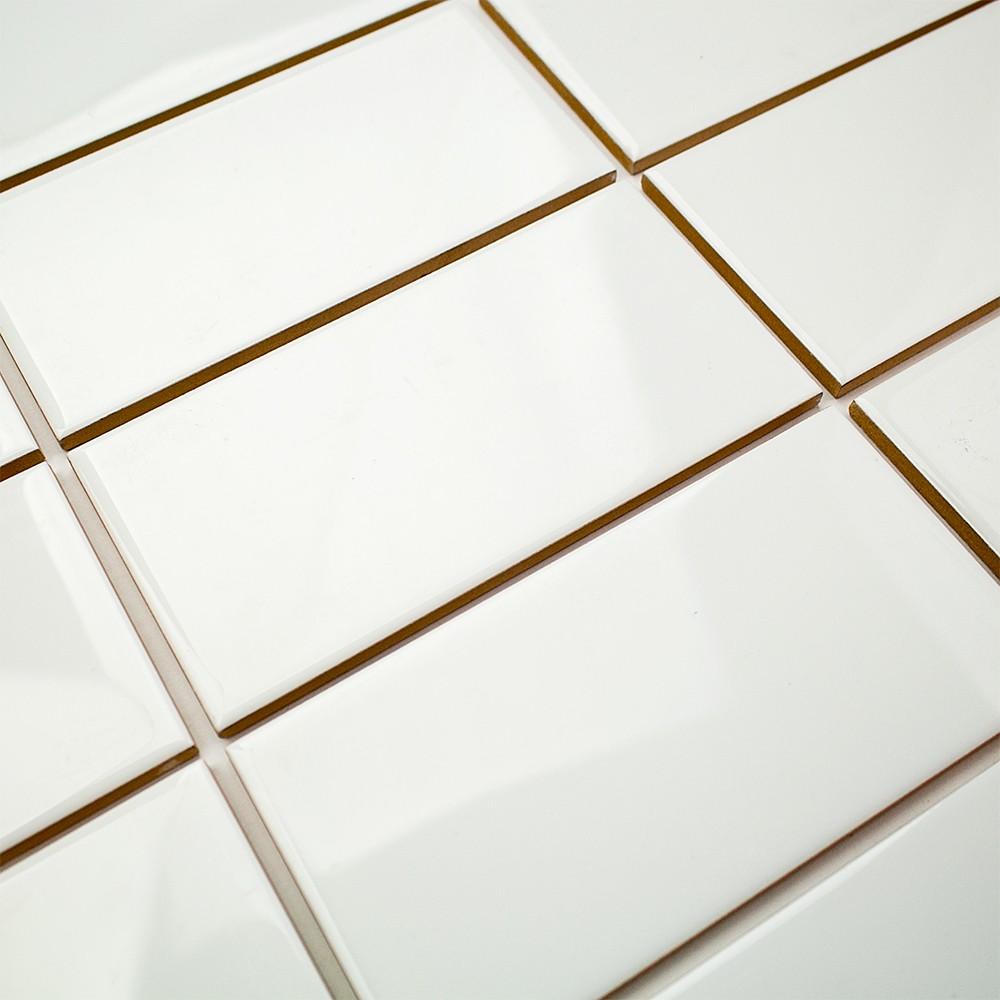 Basic 3x6 White Ceramic Tile