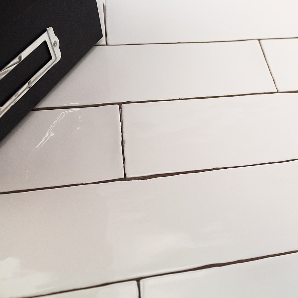 Shop For Lancaster 3x12 Bianco Ceramic Tile At Tilebar Com
