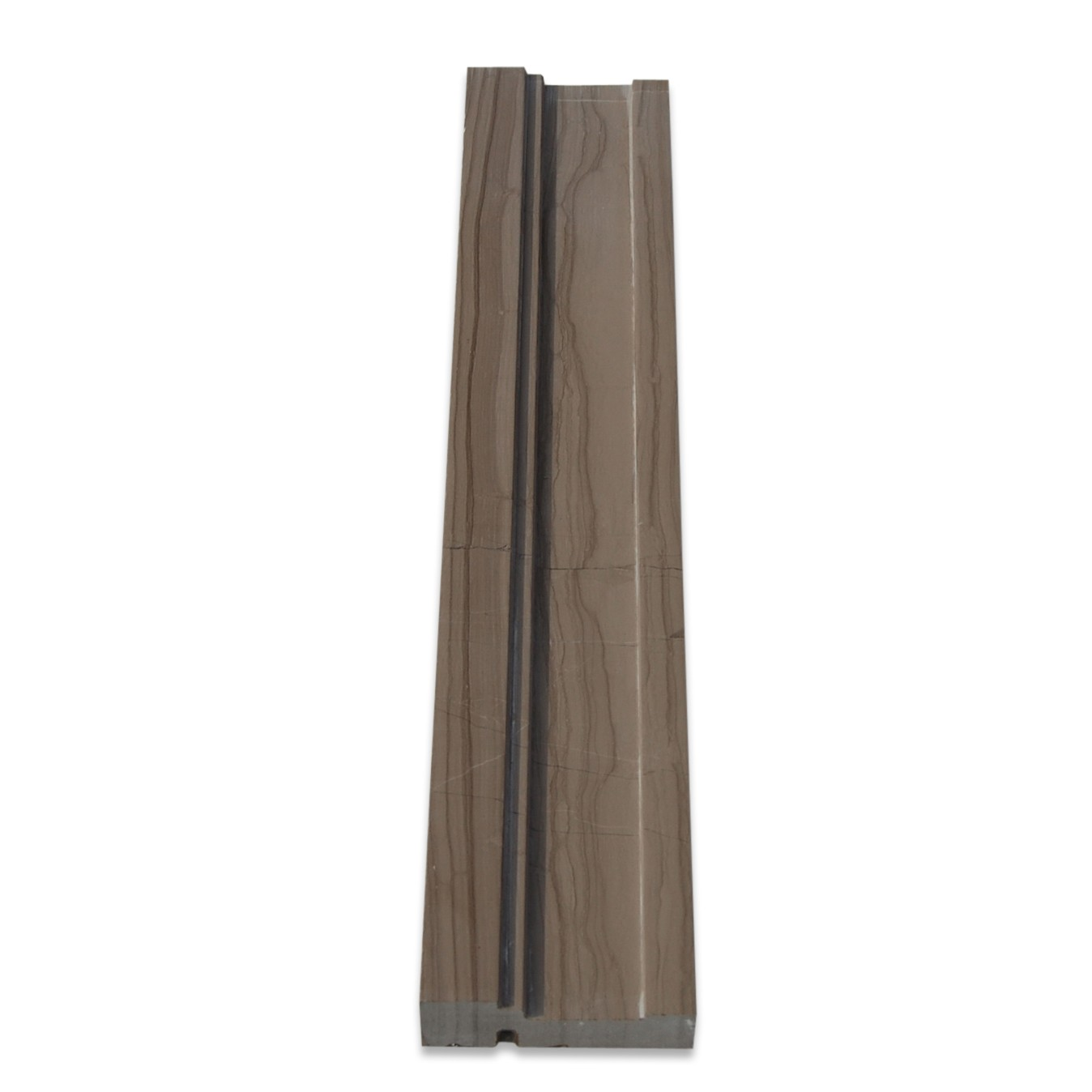 Shop 15mm Athens Gray Honed Chair Rail At TileBar.com