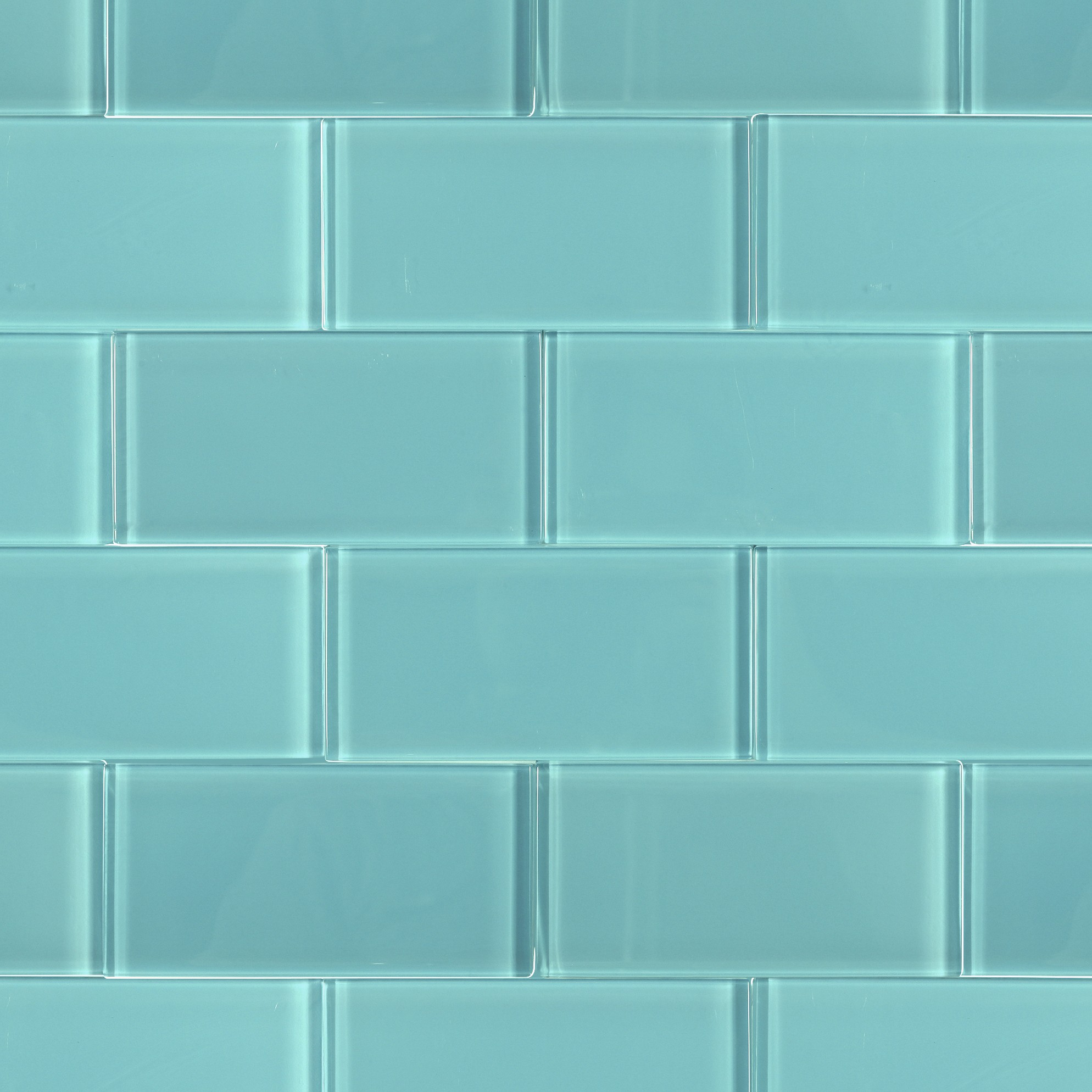 Kitchen Marble Top Shop For Loft Turquoise Polished 3 X 6 Glass Tiles At