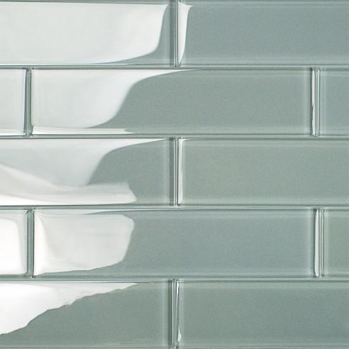 Shop For Loft Aspen Aura 2x8 Polished Glass Tiles At