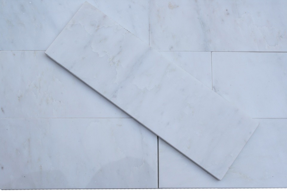 Shop 3 Pcs Sq Ft Asian Statuary 4 X 12 Polished Marble