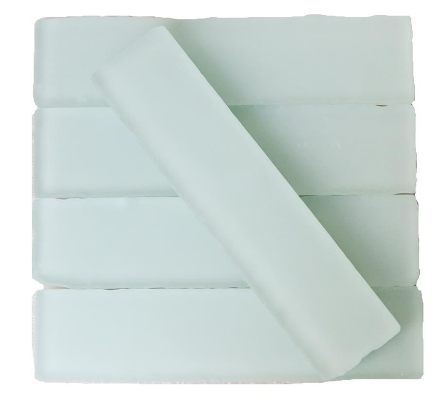 Shop For Coastal Shower 2x8 Beached Frosted Glass Tiles At