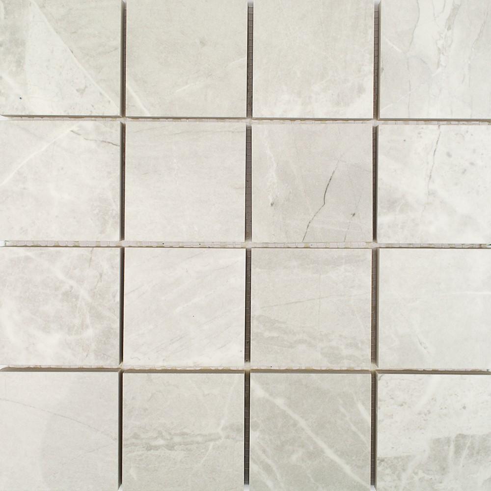 Pamesa Kashmir 3x3 Perla Mosaic Porcelain Tile Tilebar Com
